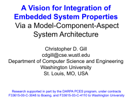 A Vision for Integration of Embedded System Properties …