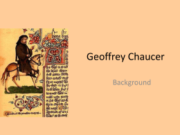 Geoffrey Chaucer - Pearland Independent School District