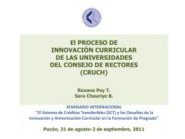 Diapositiva 1 - CONSEJO DE RECTORES DE LAS …