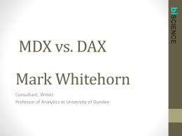 MDV vs. DAX