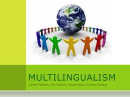 MULTILINGUALISM - Proyecto Webs