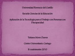 Universidad Florencio del Castillo Escuela Ciencias de la