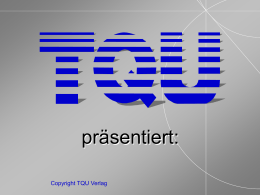 Wissen managen - TQU Startseite