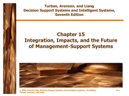 Chapter 15 Integration, Impacts, and the Future of