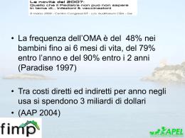 Diapositiva 1 - Benvenuto nel sito dei pediatri della Liguria