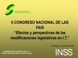 Diapositiva 1 - FAISS Principal