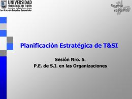 Estrategias de Competitividad y T&SI