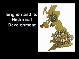 English and its Historical Development, Part 2