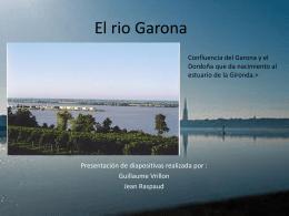 El rio Garona
