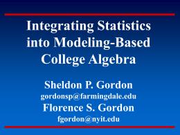 Some Data on Mathematics Education