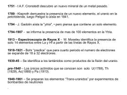 Energias de Ionizacion de lantanidos