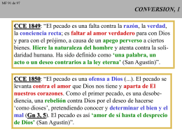CONVERSION, 1 - CAMINANDO CON JESUS
