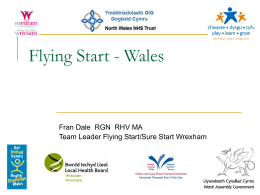 Flying Start - Wrecsam - Wrexham County Borough Council