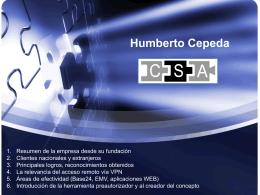 Diapositiva 1 - CSA Consultores