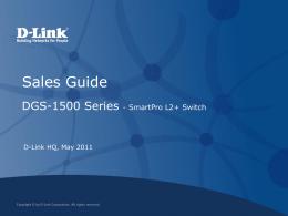 DGS-1500 Series_Sales Guide