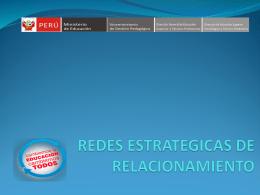REDES ESTRATEGICAS DE RELACIONAMIENTO