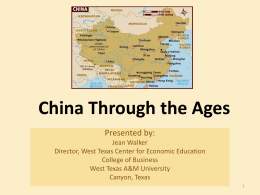China Through the Ages