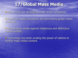 17/Global Mass Media - Walla Walla Community College