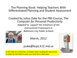 Step-by Step: Better Lesson Planning for Librarians
