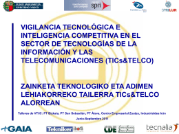 Diapositiva 1 - Euskadi+innova