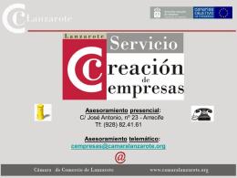 Diapositiva 1 - Cabildo de Lanzarote.