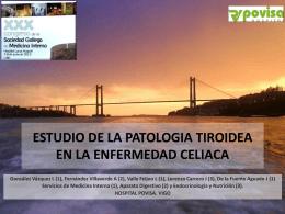 ESTUDIO DE LA PATOLOGIA TIROIDEA EN LA …