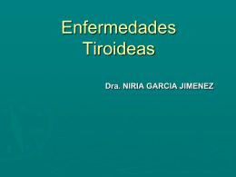 Enfermedades Tiroideas