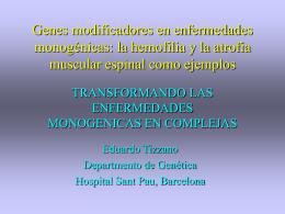 VARIABILIDAD FENOTIPICA EN LA HEMOFILIA