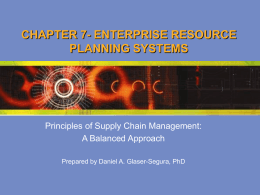 CHAPTER 1 INTRODUCTION TO SUPPLY CHAIN …