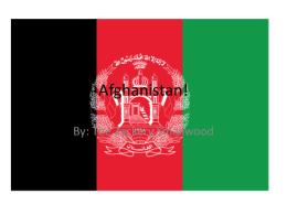 Afghanistan!