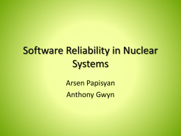 A hybrid approach to quantify software reliability in