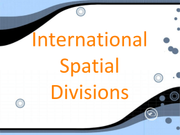 Spatial Divisions - Home - Seaford School District