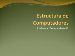 Estructura de Computadores - RAMOS ON