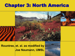 Chapter 3: North America - University of Missouri–St. …