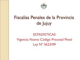 Fiscalias Penales de Jujuy