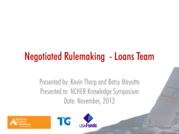 Loan Repayment Options