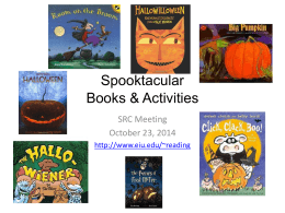 Spooktacular Books & Activities