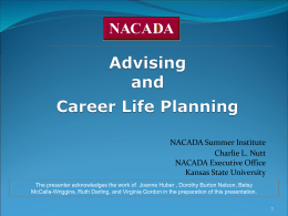 Integrating Academic Advising and Career Life Planning