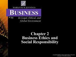 Jennings 7th Ed. Business