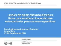 TITLE HEADER - Latin American Carbon Forum