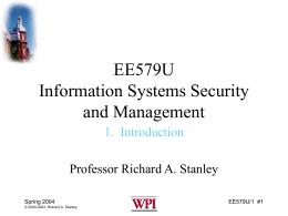 EE579S Computer Security