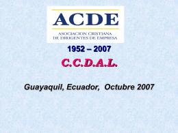 Diapositiva 1 - Uniapac Latinoamericana