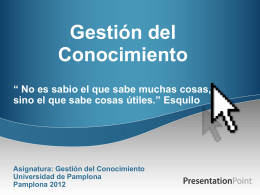 PowerPoint template - Universidad de Pamplona