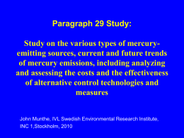 Para29 Study: Study on the various types of mercury