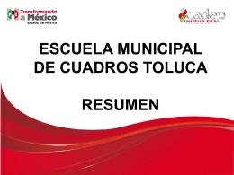 Diapositiva 1 - ICADEP Toluca