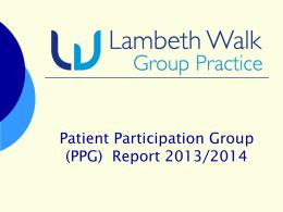 Lambeth Walk Group Practice