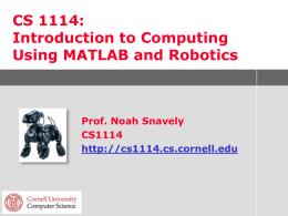 CS100R - Cornell University