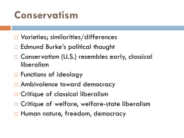 Chapter 4: Conservatism, pp