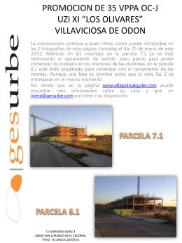 """PROMOCION DE 35 VPPA OC-J UZI XI """"LOS OLIVARES"""