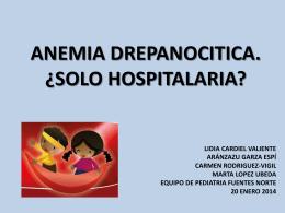 anemia_drepanocitica_ - Asociación Española de Pediatría de